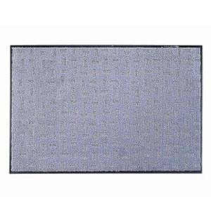 【送料無料】テラモト エコレインマット 900×1500 グレー KMTA704