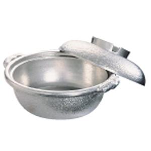 【送料無料】アルミ 土鍋(白仕上風) 33cm QDN01033【smtb-u】