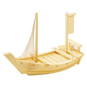 【送料無料】白木 料理舟 (アミなし)1.6尺 QLY01016