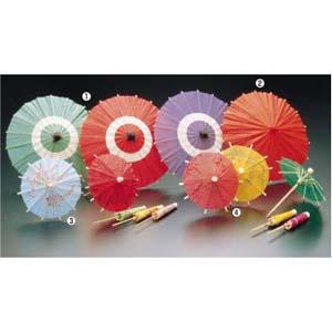 【送料無料】ヤマコー 蛇ノ目傘 B(100入) 中 紫 QZY01003