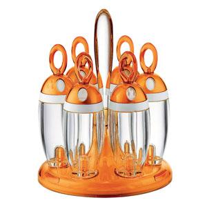 【送料無料】グッチーニ guzzini スパイスラック オレンジ 1681.0045 RGTP703