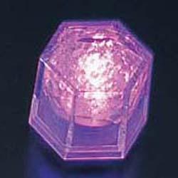 【送料無料】ライトキューブ・クリスタル 高輝度 (24個入) パープル PLI4404