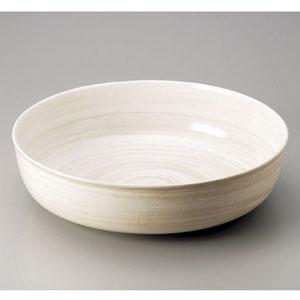 【送料無料】アルミ電磁用深型ドラ鉢 白刷毛目 尺0 NDL0401