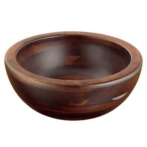 【送料無料】ヤマコー 木製 惣菜くり鉢 深型 大 44282 PSC9601