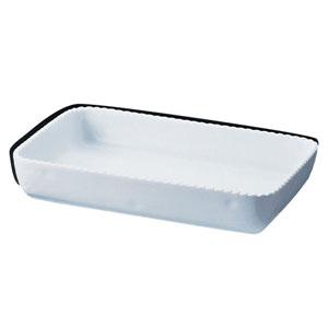 【送料無料】ロイヤル 角型グラタン皿 ホワイト PB500-44 5102500