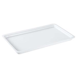 【送料無料】ロイヤル陶器製 角ガストロノームパン PB625-01 1/1 ホワイト 1158400