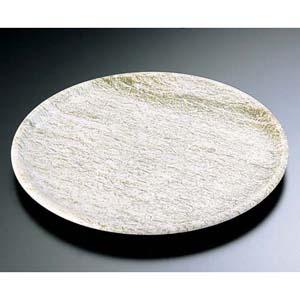 【送料無料】石器 丸皿 YSSJ-011 34cm RIS1404