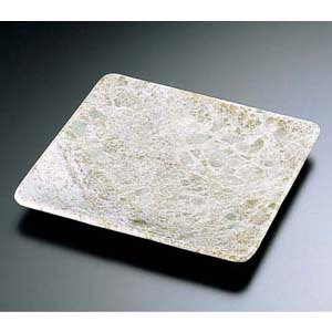 【送料無料】石器 正角皿 YSSJ-014 26cm RIS1503