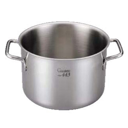 【送料無料】EBM Gastro 443 半寸胴鍋(蓋無)36cm 7685700【smtb-u】