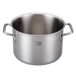 【送料無料】EBM Gastro 443 半寸胴鍋(蓋無)40cm 7685800【smtb-u】