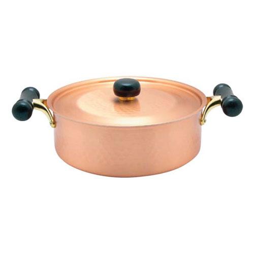 【送料無料】銅IHアンティック 浅型鍋 IH-104 24cm 3111200【smtb-u】