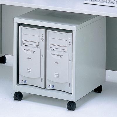 【送料無料】ナカバヤシ CPUラック グレー W500 CPU-101N