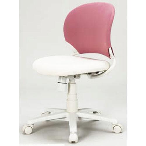 【送料無料】コイズミ 回転コーディネートチェアチェア ピンク・アイボリー KWC-241 PK 【デスクチェア イス 椅子 オフィス 買い替え】