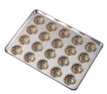 送料無料&追加で何個買っても同梱0円 【送料無料】シリコン加工 コキーユ型 天板20連 WTVA701