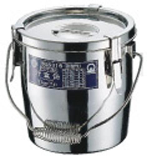 【送料無料】SAモリブデンパッキン付汁食缶30cm ASY07030