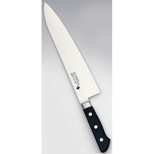 【送料無料】堺實光 プレミアムマスターII ツバ付 牛刀 21cm AZT8102