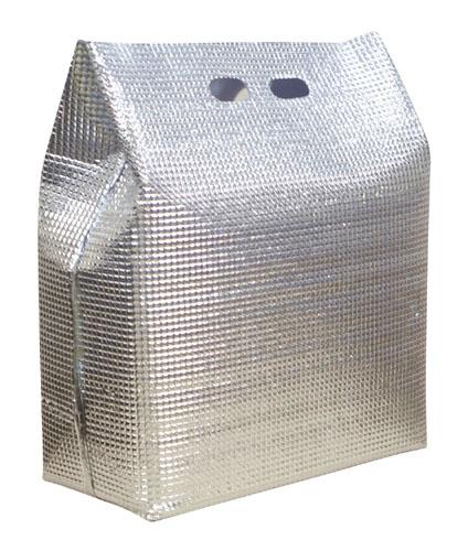 【送料無料】保冷・保温袋 アルバック 自立式袋(50枚入) LWサイズ AAL2903