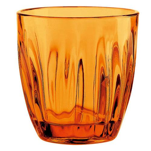 【送料無料】グッチーニ guzzini グラス 300cc 6ヶ入 オレンジ 2496 RGTV110