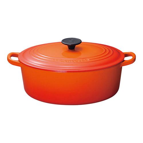 【送料無料】ル・クルーゼ ココット・オーバル 31cm オレンジ 2502 AKK4405【smtb-u】