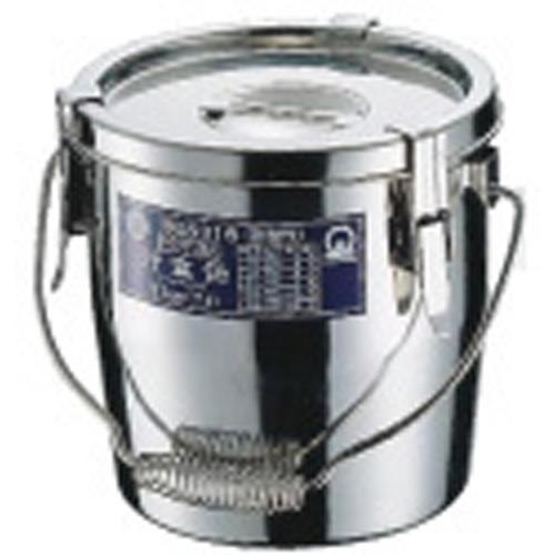 【送料無料】SAモリブデンパッキン付汁食缶 27cm ASY07027