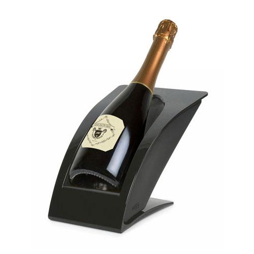ブラック IMPGR-BK (快適家電デジタルライフ) ワイン・冷酒クーラーグロス ワイス wICE