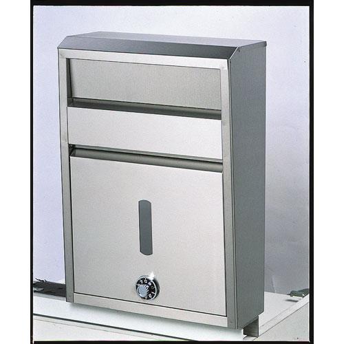 【送料無料】ポストSGT800型メイワ ステンレスダイヤルロック 40523700