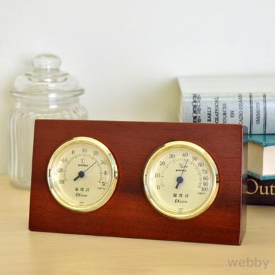 5980円(税込)以上で送料無料&追加で何個買っても同梱0円 エンペックス EMPEX 温湿度計 ウッディEX TM-758