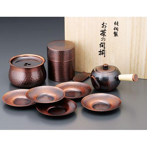 【送料無料】ASAHI アサヒ 夢 急須・茶筒・建水・茶托セット CB525【smtb-u】