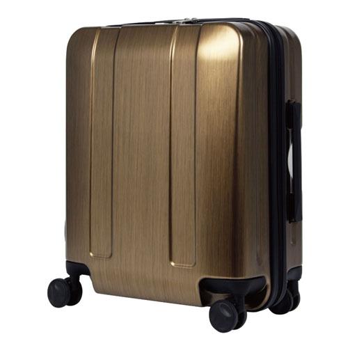 【送料無料】T&S ティーアンドエス LEGEND WALKER HARD CASE 5087 FASTENER FRAME 軽量スーツケース 48cm メタリックゴールド 5087-48【smtb-u】