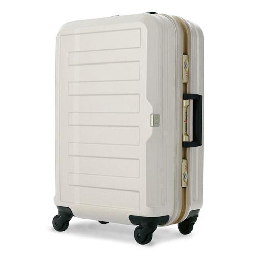 【送料無料】T&S ティーアンドエス LEGEND WALKER HARD CASE 5088 METAL FRAME シボ加工スーツケース 60cm アイボリー 5088-60-IV