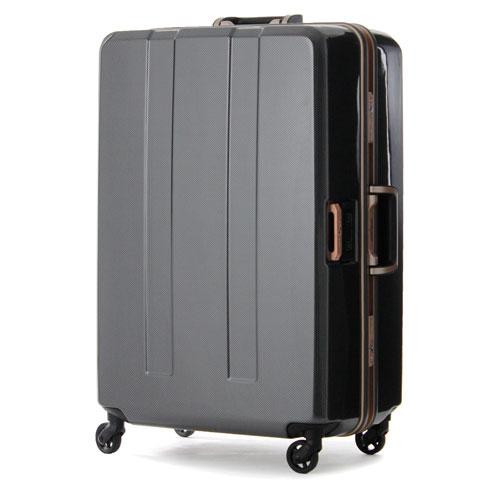 【送料無料】T&S ティーアンドエス LEGEND WALKER PREMIUM HARD CASE 6703TRAVEL METER METAL FRAME 重量チェッカー搭載スーツケース 64cm カーボン 6703-64-CB