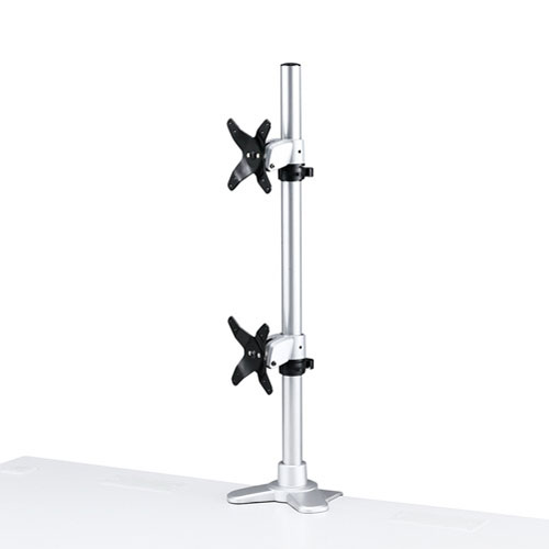 【送料無料】サンワサプライ 水平垂直液晶モニターアーム(机用・水平垂直・上下2面) CR-LA1009N【smtb-u】