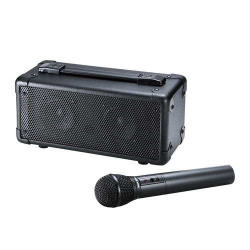 【送料無料】サンワサプライ ワイヤレスマイク付き拡声器スピーカー MM-SPAMP4