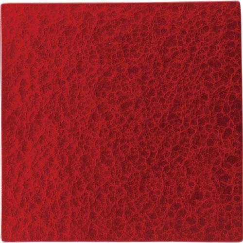 【クーポンで25%値引き】【送料無料】漆石(ウルシ) 正角トレー 27cm レッド US2701-RD