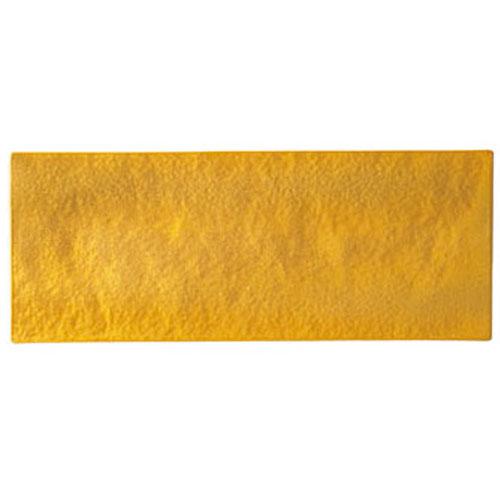 【クーポンで25%値引き】【送料無料】漆石(ウルシ) 長角トレー 35cm ゴールド US3511-GD