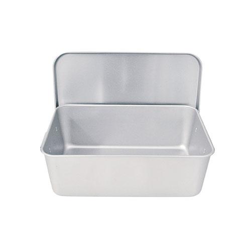 【送料無料】アルマイト 重なるパン箱 蓋付 35~45人対応 TA-40 APV4901