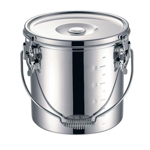 【送料無料】本間製作所 仔犬印 19-0 電磁調理器対応 スタッキング給食缶 30cm ASYG606