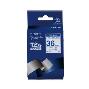 5980円 税込 以上で送料無料 追加で何個買っても同梱0円 ブラザー 白 初回限定 TZE-263 TZeテープ 36mm 驚きの値段で 青文字