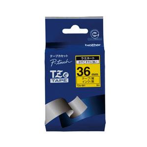 5980円 税込 以上で送料無料 追加で何個買っても同梱0円 ブラザー TZeテープ 新作アイテム毎日更新 オープニング 大放出セール 黄 TZE-661 36mm 黒文字