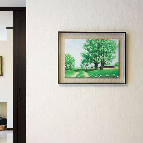 【送料無料】オリジン アートポスター キャロル コレット GREEN SCAPE 03 HS-7210【smtb-u】