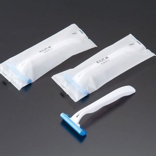 【送料無料】オリエンタル刷子 カミソリ SB2枚刃 マットOP袋入 1箱500本入 ZKM2001