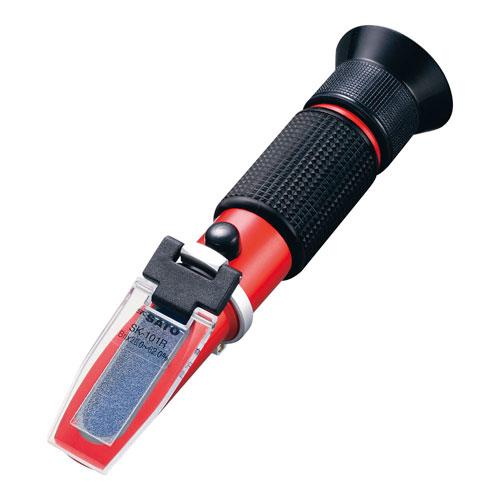 【送料無料】SATO 手持屈折計 自動温度補正付 SK-101R BKS0901