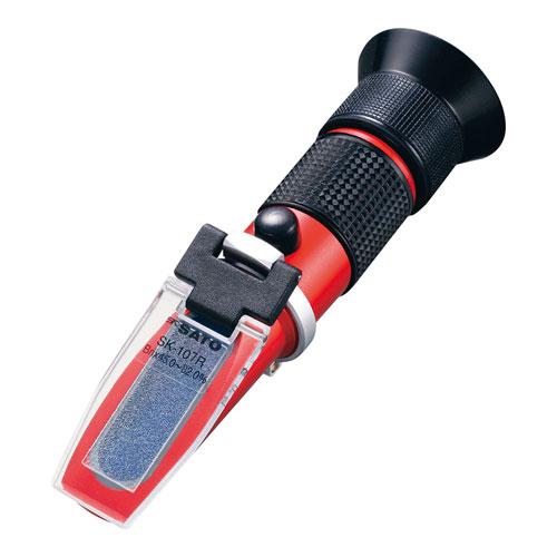 【送料無料】SATO 手持屈折計 自動温度補正付 SK-107R BKS1301