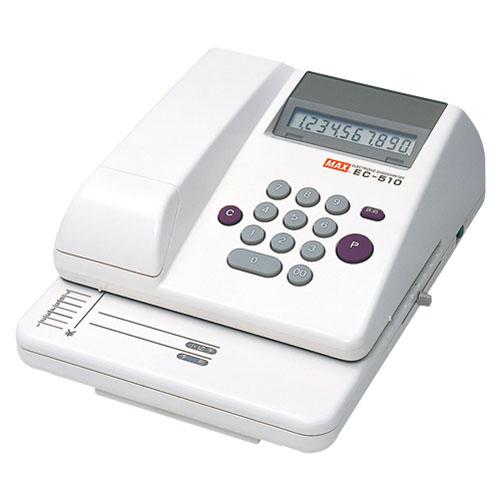 【送料無料】マックス 電子チェックライター EC-510 EC90002【smtb-u】