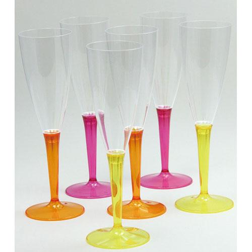 モザイク シャンパングラス 6個セット MZCFRYO NSY3001