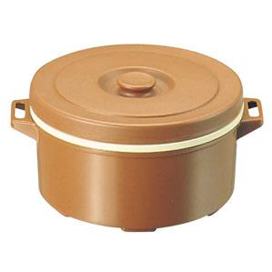【送料無料】プラスチック 保温食缶 みそ汁用 DF-M1 大 D/B 0822200