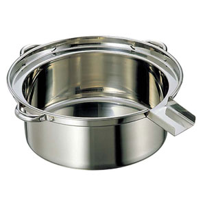 【送料無料】EBM 18-8 ゆで麺鍋 小 φ475A・Bタイプ 0867100