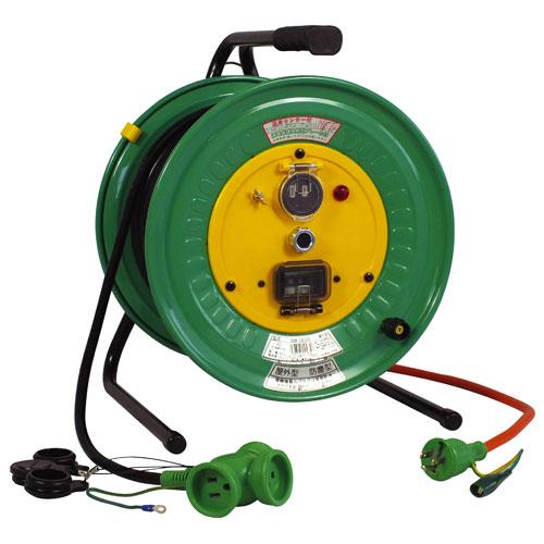 【送料無料】日動工業 延長コード型ドラム びっくリール 防雨防塵型 30m RBW-EB30S