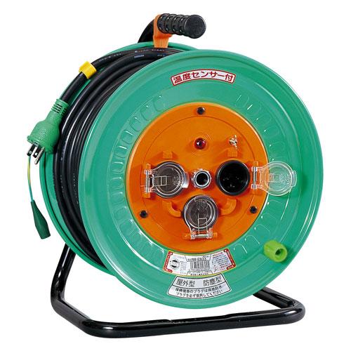 【送料無料】日動工業 防雨・防塵型ドラム 30m NW-E33F