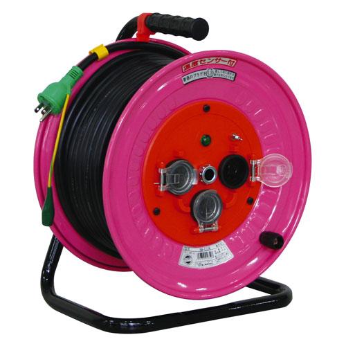 【送料無料】日動工業 防雨・防塵型ドラム 抜止式コンセント仕様 30m NW-E33N